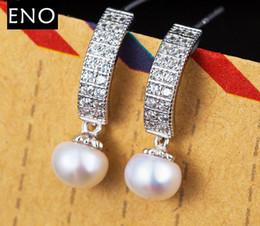 Wholesale White Opal Earings - for women gold long dangle earrings vintage fashion big pearl jewelry earings retro temperament drop earrings channel brand