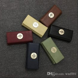 Wholesale Wallet Nylon - High Quality Women Wallet Luxury Brand Designer Wallets European And American Style Simple Wallet Vintage Bag Purse Wallets For Women