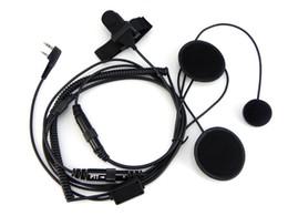Casque intégral de casque de moto de casque pour la radio bidirectionnelle portative Baofeng talkie-walkie UV-5R UV-5RE plus BF-888S UV-B5 ? partir de fabricateur