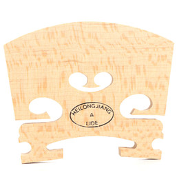 Wholesale Wood Parting Tool - Wholesale- 2016 New Violin Bridges Fiddle Old Flamed Maple Wood 4 4 Size Instrument Accessories Violino Bridge Parts Tools Perfect Shape