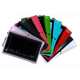 Wholesale Mid Tablet Pc 8gb Wholesale - NEW Q88 7 inch A33 Quad Core Tablet Allwinner Android 4.4 KitKat 512MB RAM 8GB ROM WIFI Dual Camera Flashlight MID