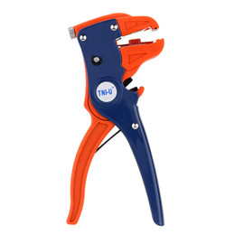 Wholesale High Carbon Steel Wires - TU-1 TNI-U High Quality Carbon Steel Wire Stripper Duck Mouth Wire Cutter Auto Line Clamp Pliers