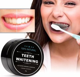 Wholesale Oral Care Kits - TOP Tooth Whitening Nature Bamboo Activated Charcoal Smile Powder Decontamination Tooth Yellow Stain Bamboo Toothbrush Toothpaste Oral Care
