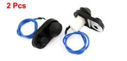 Drucktastenlampe online-2 Teile / los Auto Auto Interior Schwarz Push Button Tür Licht Lampe Schalter Rabatt 50 licht lupe lampe