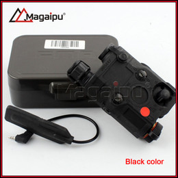 Wholesale Middle Earth - Magaipu Tactical AN PEQ-15 RED Laser with White LED Flashlight Torch IR illuminator For Hunting Outdoor Black Dark Earth
