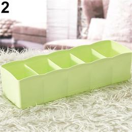 Wholesale Alpine White - Plastic Drawer Organizer Closet Storage Box Underwear Socks Tie Cosmetic Organizer Cosmetic Desktop Plastic Box Organizer