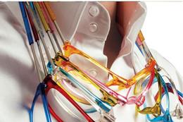 Wholesale Reading Eyeglasses - fashion Folding Magnets magnifying reading glasses magnetic Front Connect unisex eyeglasses hang folding quality reader