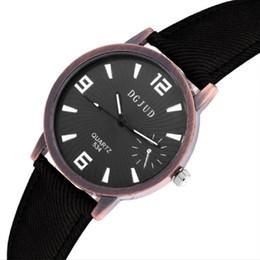 Wholesale Cowboy Watches - Retro cowboy students wrist watches Unisex casual mens watches Fashion Leisure men women quartz watch Gift
