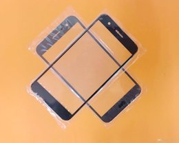 Wholesale Glass Lens Cover - New Outer LCD Front Screen Glass Lens Cover Replacement Parts For LG K20 LV5 K10 2017 X400 M250 VS501 free shipping