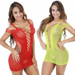 Argentina Falda sexy mujeres malla siamesa falda a cielo abierto ropa interior malla paquete neto falda de la cadera ropa de dormir envío rápido más sexy ver a través de la ropa interior Suministro