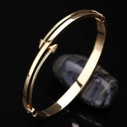 Wholesale Stylish Jewelry Sets - 2016 Love Bangle Titanium jewelry Stainless Steel Luxury Brand Stylish Screws Nail Bangle Women Man Bracelet CC valentine's day