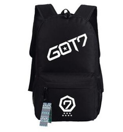 df30126630f7 Got7 backpack YoungJae Bambam YuGyeom school bag Got7 fans daypack Music  group schoolbag Outdoor rucksack Sport day pack LaptopbagTravel bag music  backpacks ...