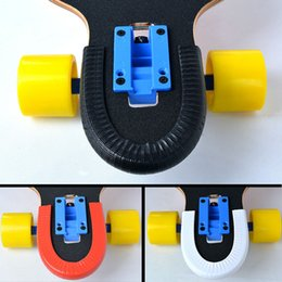 Wholesale Skateboard Double - Wholesale- 1 Pair skateboard protection rails for longboard and double rocker with good quality and function