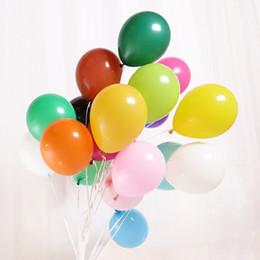 Новые 100шт/лот 10 дюймов 1.5 г/шт. воздушный шар латекса гелий утолщение Перл празднование свадьбы день рождения украшения воздушный шар от