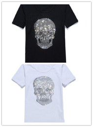 Wholesale Kanye West Tshirt - 2018 new style Kanye West designer virgil abloh t shirt skull marble 3d printed brand tshirt for men women casual tees