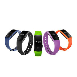 Wholesale Wholesale Home Monitoring Systems - Bluetooth Smart Bracelet smart band Heart Rate Monitor Wristband Fitness Tracker remote camera for Android iOS System