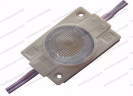 Wholesale Sign Letter Outdoors - Outdoor IP65 High Power 2W LED modules Light With Lens DC12V Sidelight For LED sign Light Box & Channel Letters 2 years warranty MYY