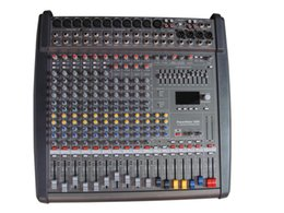 Wholesale 10 channel powermate1000 Professional mixer amplifier Mixer with power amplifier Stage performance USB mixer Tuning device