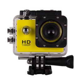 Wholesale Sports Waterproof Dv Camera Video - SJ4000 120 degree wide-angle lens 1.5 inch LCD sports DV Full HD 1080P 30m waterproof outdoor action video camera without adapter