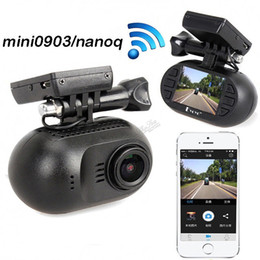 Wholesale Mini Dash Cam Gps - Mini 0903 nanoq 1080p HD Wifi Car Dash Cam Capacitor 7G Night Vision GPS car dvr
