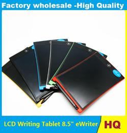 """Argentina Alta calidad LCD Escritura Tablet 8.5 """"eWriter, Handwriting Pads Tablet Tablero portátil ePaper, para adultos, niños y deshabilita el envío gratuito Suministro"""