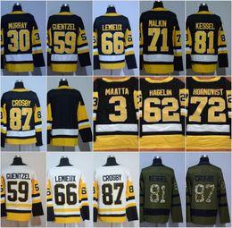 Wholesale Ads Flash - 2018 AD Hockey 87 Sidney Crosby Jerseys 81 Phil Kessel 66 Mario Lemieux 59 Jake Guentzel 71 Evgeni Malkin 30 Matt Murray Jersey