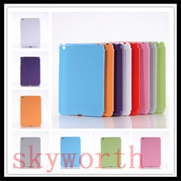 Wholesale Plastic Partners - Crystal Hard Plastic Back Case Perfectly Fit Cover For ipad mini 4 2 3 Smart Cover Partner Cases