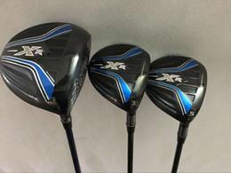 Wholesale Graphite Shaft Regular Flex - Golf clubs XR driver 10.5 loft + XR 3# 5# Fairway Woods Regular flex Graphite shaft 3PCS Golf Woods Right hand