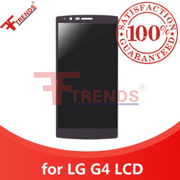 Wholesale Touch Screen G4 - Original A+++ for LG G4 LCD Display with Touch Screen Digitizer Assembly Black White 100% Tested