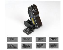Wholesale Dv Cards - mini camera 2016 mini DVS spy camera MD81S Mini Wireless WIFI IP Remote Surveillance DV Security Camcorder with 8G & 16G memory card