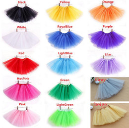Wholesale Childrens Clothes Sales - Hot Sales Baby Girls Childrens Kids Dance Clothing Tutu Skirt Dance wear Ballet Dress Fancy Skirts Costume Free Shipping