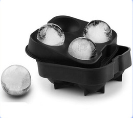 Wholesale Ice Sphere Molds - Ice Cream Maker Ice cream balls making molds Bar Drink Whiskey Sphere Big Round Ball Ice Brick Cube Maker Tray Mold Ice Tray