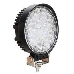 Wholesale Work Led 24w - New 30 Degree Round 24W Offroad LED Work Light 1920lm Spot 10-30V Auto LED Work Light Lamp 4X4 Truck SUV LED Fog Working Light