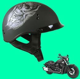 Wholesale Dot Motorcycle Half Helmets - Free Shipping SOL helmet Motorcycle Helmet Vintage helmet Harley helmet DOT Approved Moto Motocicleta Capacete Casco Casque