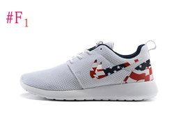 Wholesale Casual Shoes Flag - Top quality USA FLAG run BLACk gold Casual Shoes, Mens Womens sport shoes FREE SHIPPING