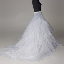 Wholesale Hoop Skirts For Sale - Cheap Hoop Skirt Bridal Petticoats Plus Size Crinolines For Sale Ball Gown Wedding Dresses Underskirt Cheap Petticoat Hot Sale