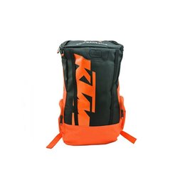 Wholesale Backpack For Water Bag - 2017 NEW Popular style KTM backpack Water bag Travel backpack motorcycle backpack daily backpack bags for you