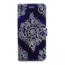 Wholesale Iphone Case Hand Holder - pearl pattern Tower hands dog Wallet Leather case holder stand for Iphone 4 5 5c se 6 plus Samsung S5 S6 Edge NOte4