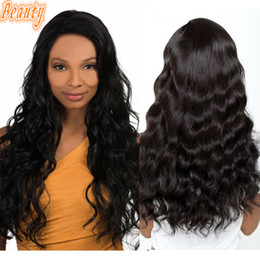 Wholesale Affordable Peruvian Body Wave Hair - HOT Beauty Hair Body Wave Brazilian Hair Wavy Women Popular Human Hair Affordable Full Lace Wigs