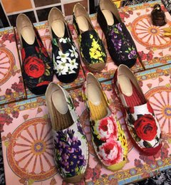 Wholesale Thick Fashion Ropes - Fisherman shoes new fashion week catwalk models popular in countries very beautiful classic thick rope cozy sheepskin pad feet