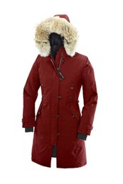 Wholesale Down Jacket Women White - 2017 hot sale Women's KENSINGTON PARKA goose down jacket Coat Fu Winter thick cotton padded jacket cotton women jacket white collar cap