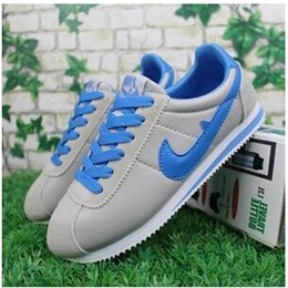 Wholesale Netted Shoes - hot sell! 2016 classic yin and yang male and female spring autumn casual shoes racer shoes Cortez Shoes Leisure Nets size 36-44