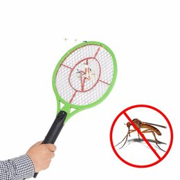Wholesale Rechargeable Mosquito Killer - practical rechargeable electric insect mosquito flyswatter bug bat anti mosquito killer outdoor BBQ camping Hiking A-DW