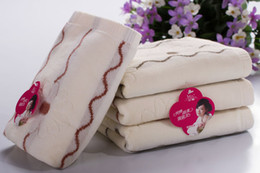 Wholesale Wholesale Cotton Textiles - face towels kitchen towels washcloths towel baby robes towels cotton towel for sweat and slobber home textiles hotel towels 36X75CM