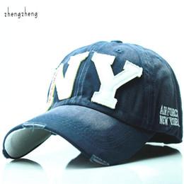 Wholesale Ny Pink - fashion cotton baseball cap snapback hat for men women Men's Visors sun hat bone gorras ny embroidery caps spring cap wholesale