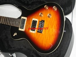 Wholesale Guitar Case Oem - Sunburst Custom Shop High Quality Electric Guitar High Quality OEM Available HOT with case