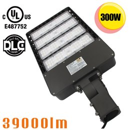 Wholesale Fixtures Fittings - Slip Fitter LED Shoebox Light 150W 300W IP65 Waterproof SMD3030 LED Parking Lot Outdoor Fixture UL Approved 5700K