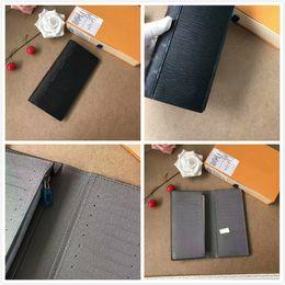 Wholesale Porte Carte - Men genuine leather M62665 passport cover wallet women credit card holder men business card holder travel wallet porte carte GC#83 With Box