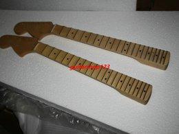 Wholesale Guitar Neck Wholesale - Left Hand Maple Guitar Neck For Free Shipping Wholesale guitar neck
