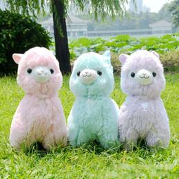 Wholesale Japanese Sheep - Big Size 45cm Japanese Alpacasso Soft Toys Doll Kawaii Sheep Alpaca Plush Toys Giant Stuffed Animals Toy Kids Christmas Gift